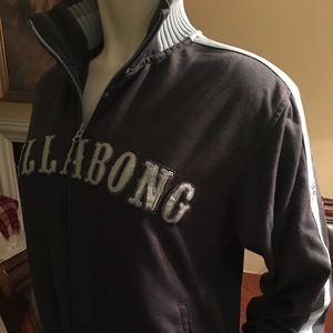 Billabong track jacket sz M really nice